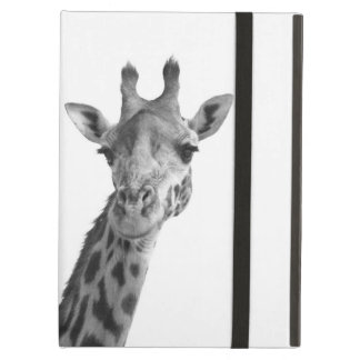 Black & White Giraffe Cover For iPad Air