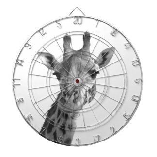 Black & White Giraffe Dartboard