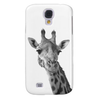 Black & White Giraffe Galaxy S4 Case