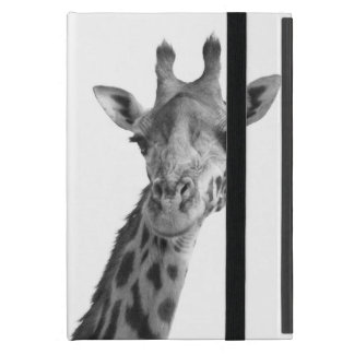 Black & White Giraffe iPad Mini Cover