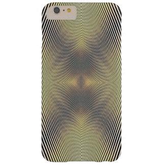 Black, White & Gold optic illusion Phone case