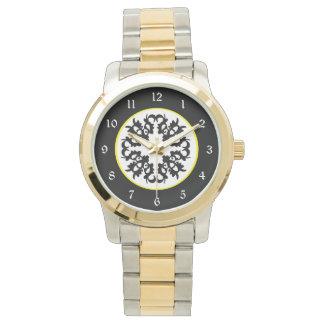 Black White Goth Design Wrist Watches