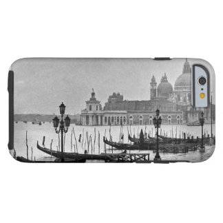 Black White Grand Canal Venice Italy Travel Tough iPhone 6 Case
