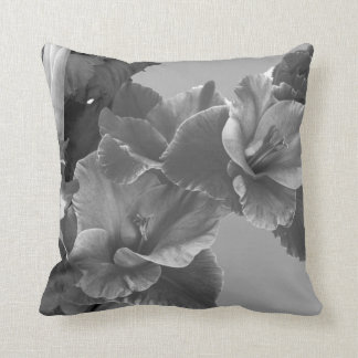 Black, White & Grey Decorative Cushion