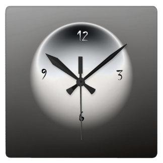 Black/White/ Grey> Minimalist Wall Clock
