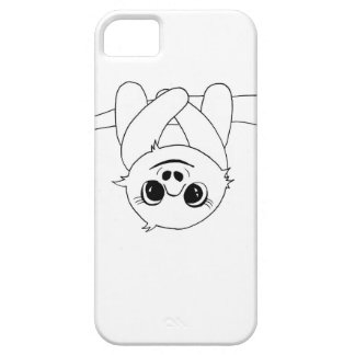 Black&white hanging sloth case for the iPhone 5
