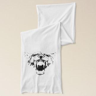 Black & White Hear My Roar! - Scarf