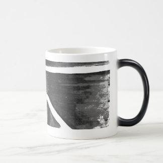 Black white Heat sensitive Cup Morphing Mug