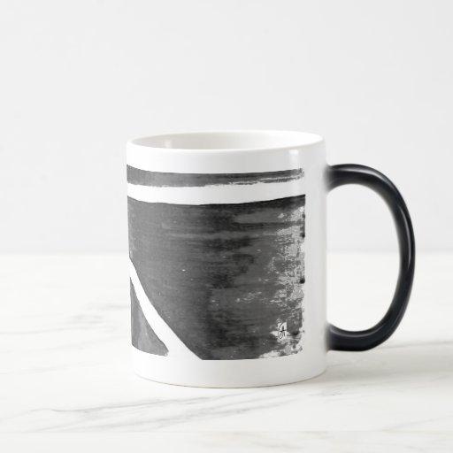 Black white Heat sensitive Cup Mug
