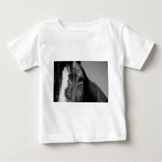 Black White Horse Eye Artwork Tees