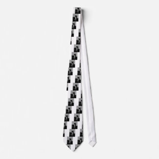 Black & White Horse Portrait Tie