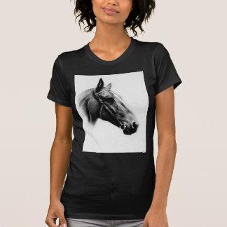 Black & White Horse Tshirts