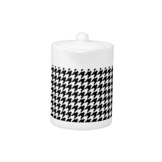 Black/White Houndstooth Stylish Fashion Designer