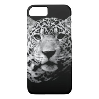 Black & White Jaguar iPhone 7 Case