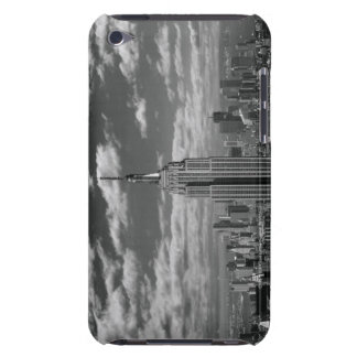 Black & White landscape of New York City skyline Barely There iPod Cover
