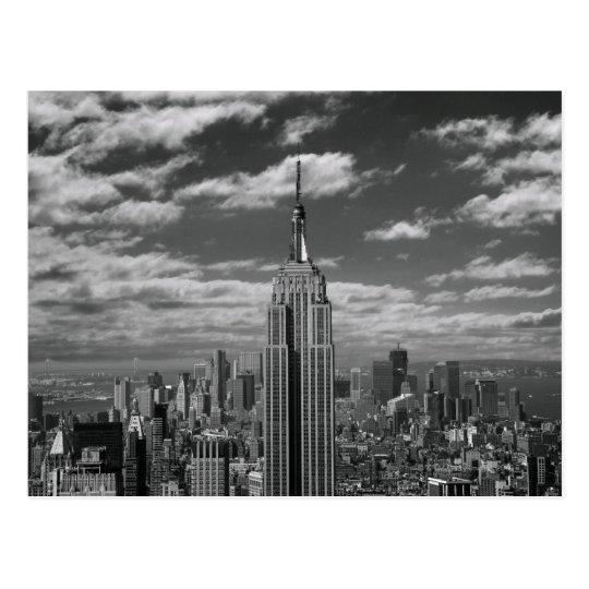 Black & White landscape of New York City