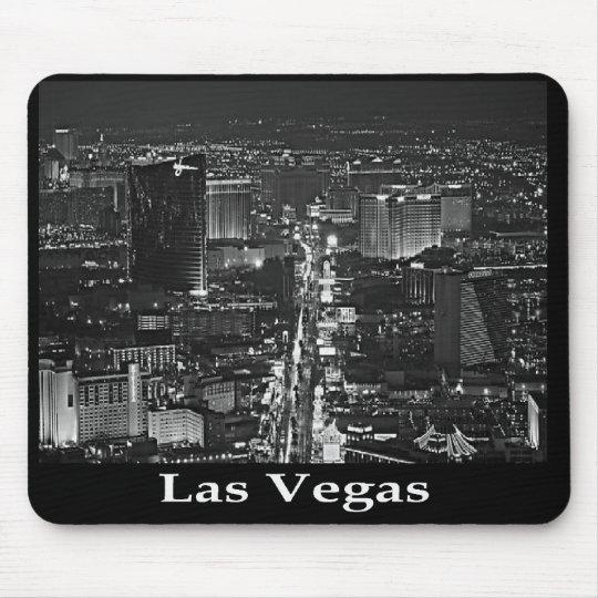 Black & White Las Vegas Strip Mousepad