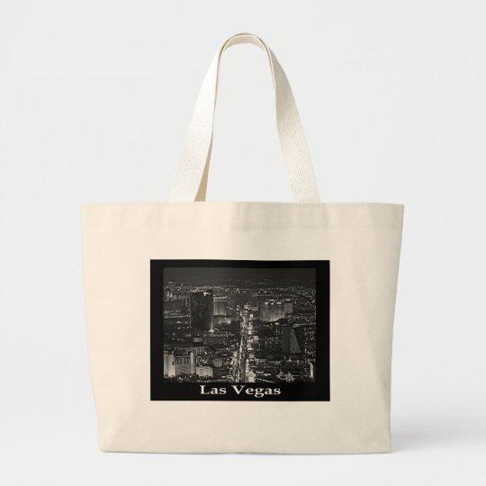 Black & White Las Vegas Tote Bag