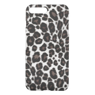 Black White Leopard Pattern Classic Stylish iPhone 8 Plus/7 Plus Case