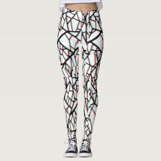 Black & white linings leggings