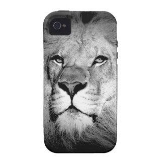 Black White Lion iPhone 4/4S Cases