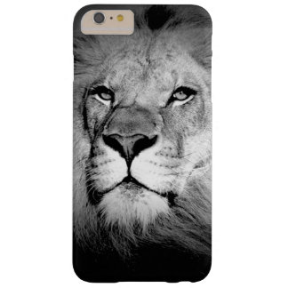 Black & White Lion iPhone 6 Plus Case