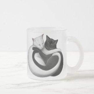 Black & White Love Cats Mug