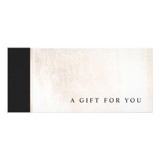 Black White Marble Salon Gift Certificate