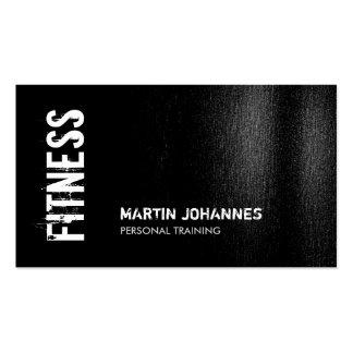 Black White Modern Business Card