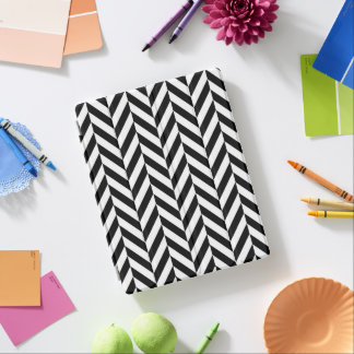 Black & White Modern Chevron iPad Smart Cover iPad Cover