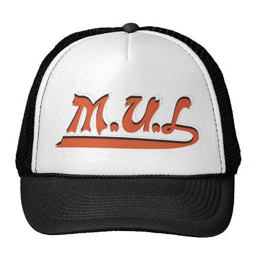 Black & White MUL Logo Cap Hat