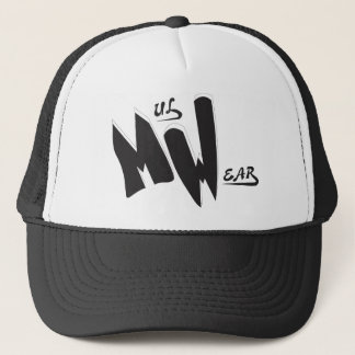 Black & White  MW  Logo cap
