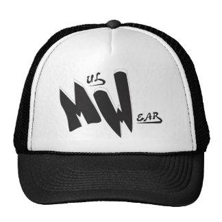 Black White MW Logo cap Hats