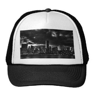 Black White New York City Mesh Hat