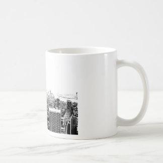 Black & White New York City Coffee Mugs