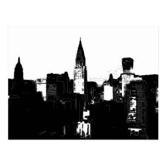 Black & White New York City Post Cards