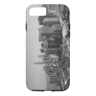 Black White New York City Skyline iPhone 7 Case