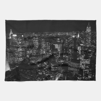 Black & White New York City Towels