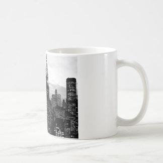 Black & White New York Coffee Mug