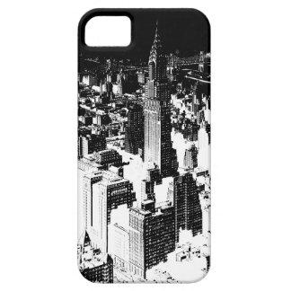 Black & White New York iPhone 5 Cases