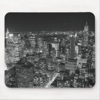 Black & White New York Skyscrapers Mouse Mat