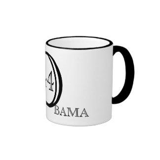 Black/White Obama Mug