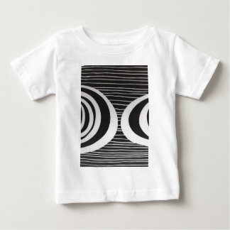BLACK WHITE PAINTING1 BLACK 1 BABY T-Shirt