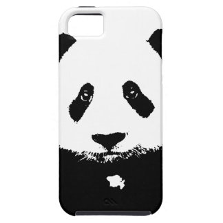 Black & White Panda Case For The iPhone 5