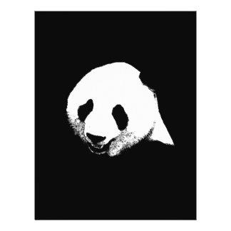 Black & White Panda Flyer