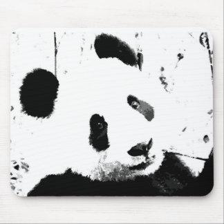 Black White Panda Mousepad