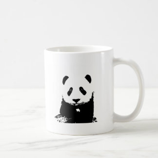 Black & White Panda Classic White Coffee Mug