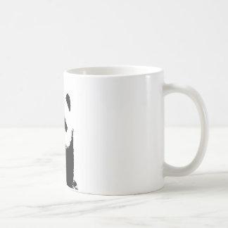 Black White Panda Mugs
