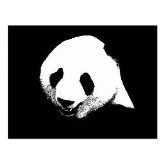 Black White Panda Postcards