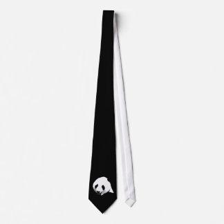 Black & White Panda Tie